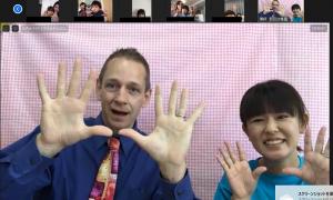 【レポート】5/22開催:オンラインレクチャー第4弾「ルーク先生と英語であそぼう!」